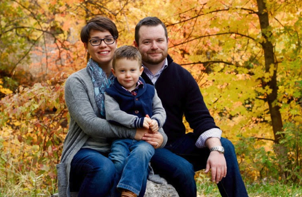 Chris Morgan and Family
